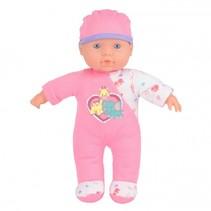 Snuggles babypop interactief Sophia 24 cm roze