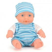babypop 15 cm blauw