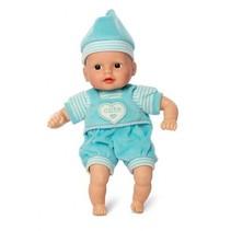 Babypop Anton blauw 30 cm