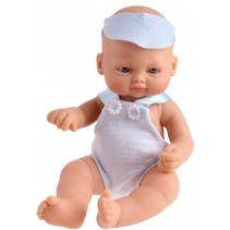 babypop New Born 23 cm blauw