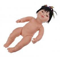 babypop zonder kleren Newborn Aziatisch 38 cm meisje