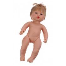 babypop zonder kleren Newborn Europees 38 cm meisje
