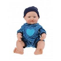 babypop New Born meisjes 40 cm blauw