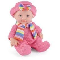 Snuggles babypop Sophia meisjes 25 cm roze 4-delig