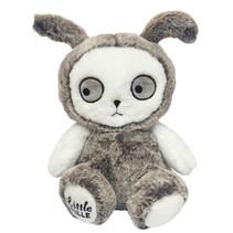 knuffelkonijn junior 30 cm polyester grijs