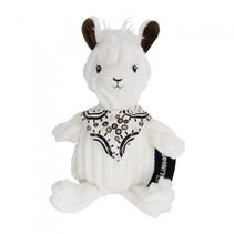 knuffel lama wit 22 cm