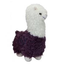 pluchen knuffel Alpaca 22 cm junior paars