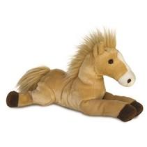 Knuffel Flopsie paard butterscotch bruin 30,5 cm