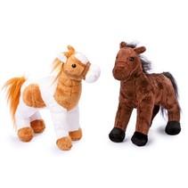 Knuffeldieren Paarden Penny en Molly