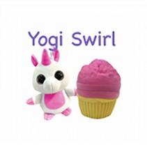 knuffel Sweet Pups - Yogi Swirl 25 cm pluche roze