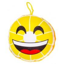 knuffelcitroen 12 cm geel