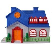 speelhuis Dream House meisjes 16.5 cm donkerblauw