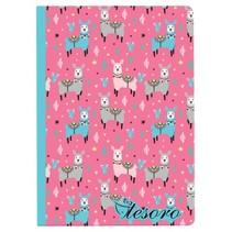 schrift vlinder blauw/roze 17 cm