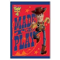 Toy Story 4 schoolschrift A5-formaat rood