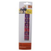 potloden Minions meisjes hout paars/roze 3 stuks