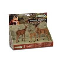 bosdieren: speelset in giftverpakking  3-delig