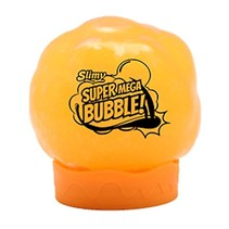 Slimy Mega Bubble 12 cm oranje