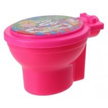 toilet met Noise Putty junior 9 cm roze