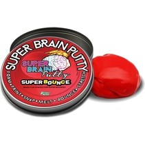 Super Bounce Brain Putty rood