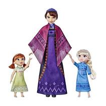 poppenset Queen Iduna meisjes 3-delig