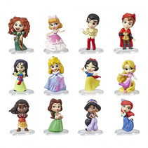 verzamelfiguur Princess Comics meisjes 5 cm 4-delig