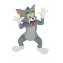 speelfiguur Tom & Jerry 'Mockery' 6 cm grijs