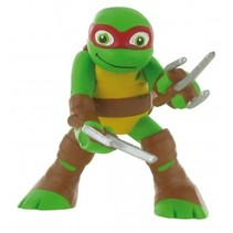 speelfiguur Ninja Turtles Raphael 9 cm groen