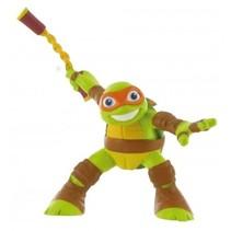 speelfiguur Ninja Turtles Michelangelo 9 cm groen
