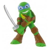 speelfiguur Ninja Turtles Leonardo 9 cm groen