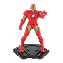 Speelfiguur Avengers Iron Man 9 cm rood