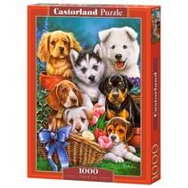 legpuzzel Puppies 1000 stukjes
