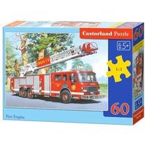 legpuzzel Fire Engine 60 stukjes