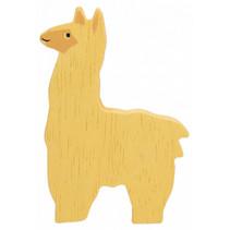 alpaca junior 8 cm hout geel