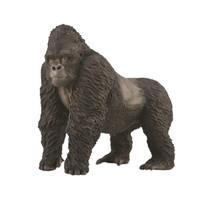 speeldier berggorilla 8,1 cm ABS zwart