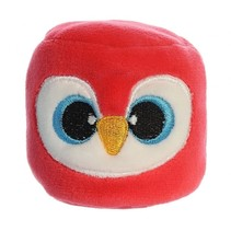mini-knuffel YooHoo beanbag 6 cm rood