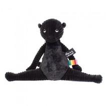 knuffel otter zwart 39 cm