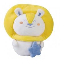 knuffel beer junior geel 17 cm