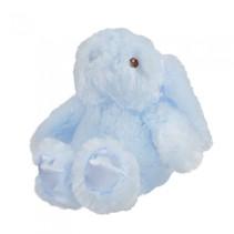 knuffelkonijn junior 20 cm polyester blauw
