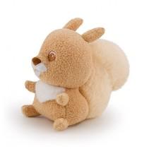 knuffel Pieper babyeekhoorn 13 cm bruin