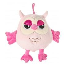 knuffeluil roze 20 cm