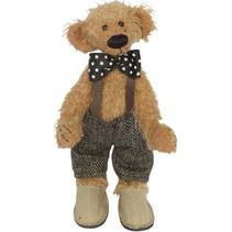 knuffelbeer Teddy Albert 20 cm pluche lichtbruin