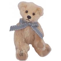 knuffel Miniatuur Fiete 12 cm pluche beige
