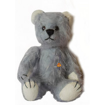 knuffelbeer Miniatuur Teddy Jesse 9 cm pluche grijs