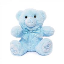 teddybeer Little Prince jongens 15 cm polyester blauw