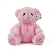 knuffelbeer Little Princess junior 25 cm roze