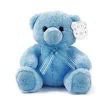 knuffelbeer Little Prince junior 25 cm blauw