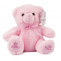 knuffelbeer Little Princess 18 cm polyester roze