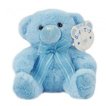 knuffelbeer Little Prince 18 cm polyester blauw