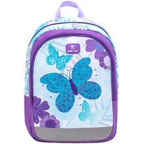 rugzak met vlinders junior 12 liter polyester paars