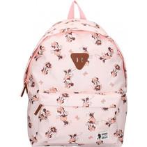 rugzak 18 L meisjes 43 x 30 x 14 cm polyester roze